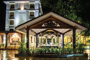 Indien Thanjavur Temple Brihadeshwara Ausflug Besichtigung