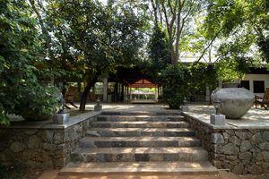 Sri Lanka Colombo See Buddha Statuen