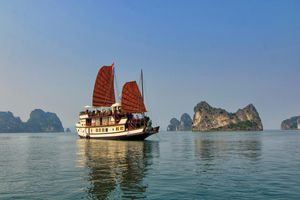 Vietnam Halong Bucht
