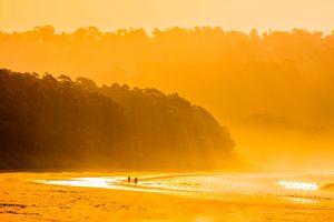 indien andamanen barefoot strand