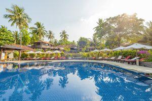 Vietnam Muine Mui Ne Strandurlaub Schwimmen Baden