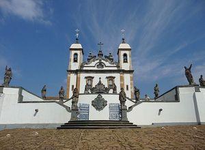 basilica do bom jesus in congonhas