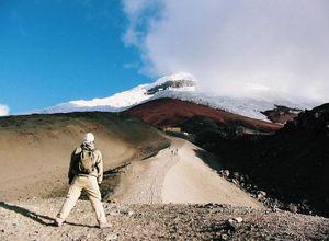 ecuador cotopaxi gletscher