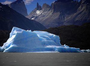 chile torres del paine gletscher