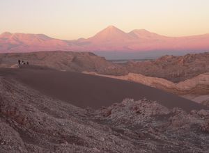 Chile Atacama Mondtal