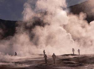 Chile Atacama Tatio Geysir