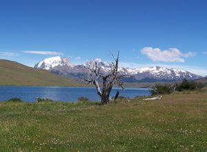 Chile Patagonien Las Torres Nationalpark Landschaft