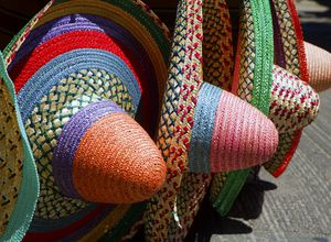 Mexiko sombreros