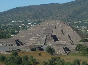 Mexiko Teotihuacan Pyramide