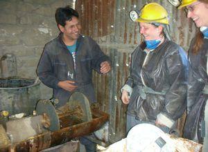 Bolivien Potosi Mine