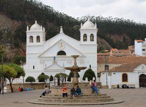 Bolivien Sucre Kirche