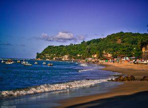 brasilien praia de pipa