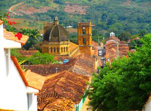 Kolumbien Santander Barichara