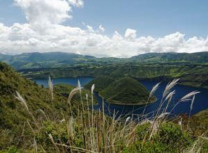 Ecuador Lagune Cuicocha
