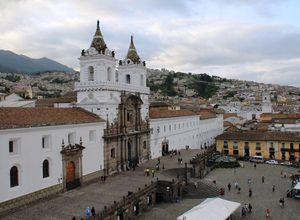 Ecuador Quito Altstadt