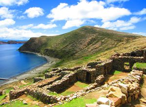 bolivien isla del sol ruinen