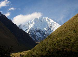 peru salkantay trail gletscher salkantay