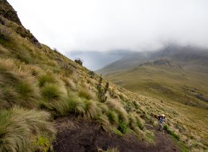 ecuador paramo landschaft