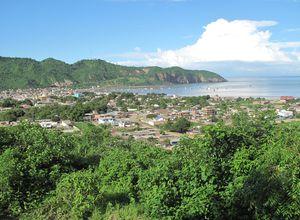 ecuador puerto lopez view