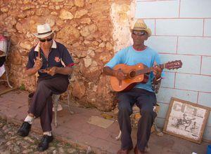Kuba Trinidad Musiker