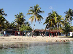 kuba playa larga strand