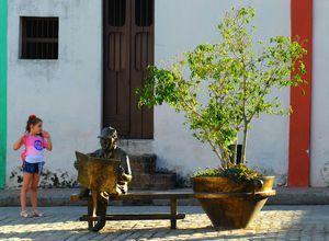 kuba camaguey statue