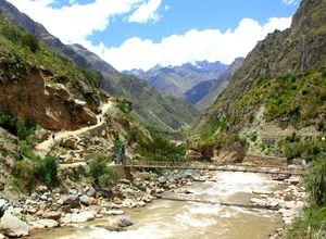 peru inka trail beginn