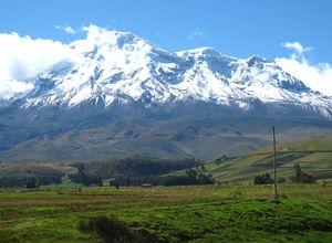 ecuador chimborazo nationalpark vulkan Y21u6Tl