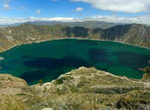 ecuador quilotoa lagune G90xjAW