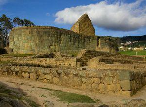 ecuador ingapirca ruinen