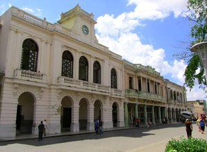 Straße in Santa Clara auf Kuba