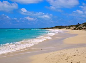 Einsamer Strand auf Cayo Santa María