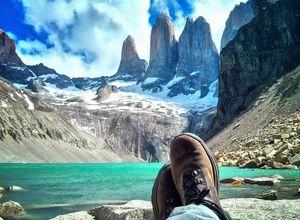 chile torresdelpaine hiking