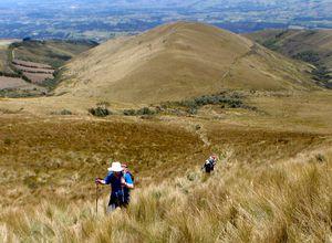 Wanderung zum Pasochoa Vulkan im Cotopaxi Nationalpark, Ecuador