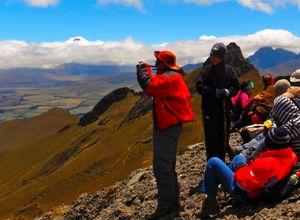 Besteigung des Pasochoas im Cotopaxi Vulkanpark, Ecuador