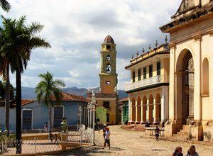 Hauptplatz in Trinidad, Kuba