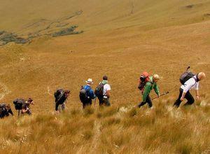 Trekking im Cotopaxi Nationalpark Ecuador