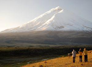 Cotopaxi Vulkan in Ecuador