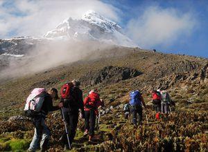 Besteigung des Cotopaxi Vulkans, Ecuador