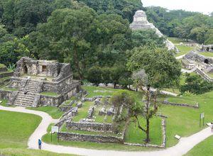 mexiko palenque panoramabild