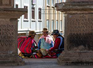 einheimische Frauen Bolivien
