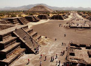 Mexiko Stadt Teotihuacán