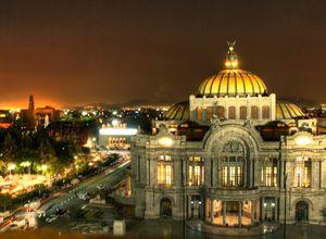 Mexiko Stadt Palacio