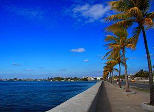 Mallecon in Cienfuegos, Kuba