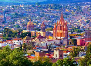 Mexiko San Miguel de Allende