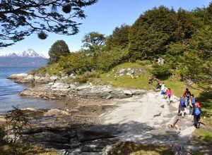 argentinienn ushuaia feuerland nationalpark trekking