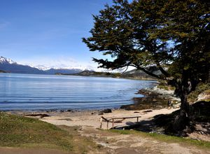 argentinien ushuaia feuerland nationalpark ausblick