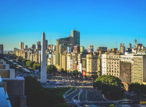 argentinien buenos aires avenida 9 de julio obelisk