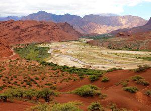 argentinien cafayate landschaft