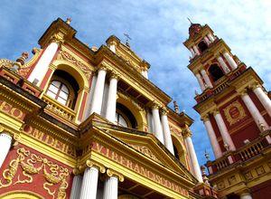 argentinien salta kirche